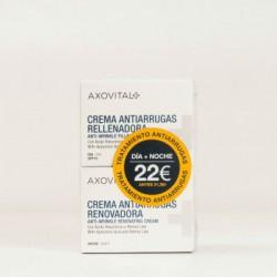 AXOVITAL CREMA ANTIARRUGAS DIA 50ml + NOCHE 50ml
