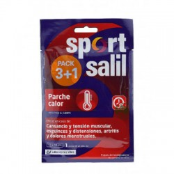 SPORTSALIL PARCHE CALOR PACK 3+1