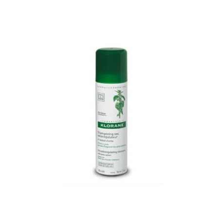KLORANE CHAMPU SECO A LA ORTIGA SPRAY 150 ML