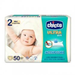 CHICCO PAÑAL MAXI TALLA 2 3-6KG 50ud