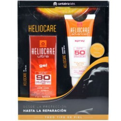 HELIOCARE ULTRA GEL SPF90 50ML + Spray corporal spf50 gratis