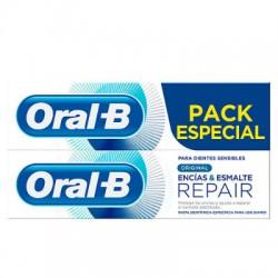ORAL-B PASTA ENCIAS-ESMALTE 2x125ml