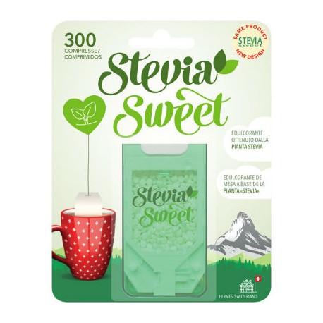 HERMESETAS STEVIA 300 COMP.