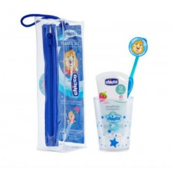 SET DENTAL AZUL 36M+ pasta-cepillo-vaso
