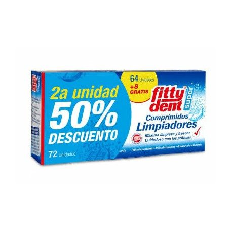 FITTYDENT COMPRIMIDOS DUPLO 2x36ud