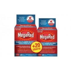 MEGARED 60 CAPS. 500mg
