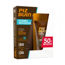 PIZ BUIN HYDROGEL LOCION SPF30 + FACIAL SPF50