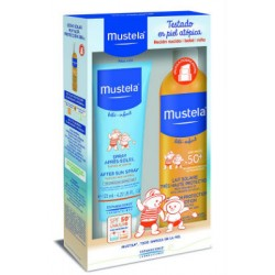 MUSTELA SOLAR SPRAY 50+ 300ML+afte.125ml
