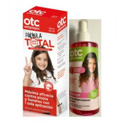 OTC ANTIPIOJOS FORMULA TOTAL 125ML + OTC SPRAY DESENREDANTE PROTEC FRESA 250ML