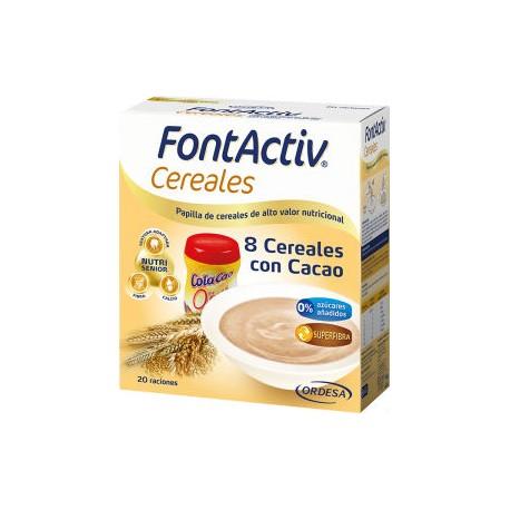 FONTACTIV 8 CEREALES+CHOCO 600gr