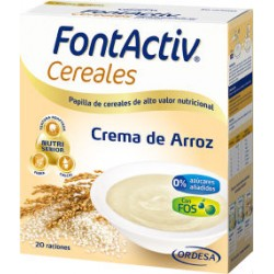 FONTACTIV CEREALES CREMA ARROZ 600gr