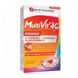 FORTE MULTIVIT 4G ENERGY 30 comp.