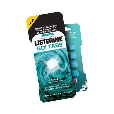 LISTERINE GO BLISTER 8ud