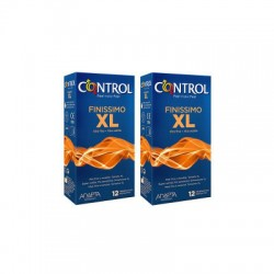 CONTROL PRESERVATIVOS FINISSIMO XL PACK MEGA AHORRO 12+12UD