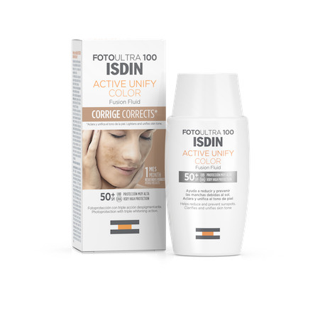 ISDIN FOTOPROTECTOR ULTRA 100 ACTIVE UNIFY FUSION FLUID COLOR 50ML