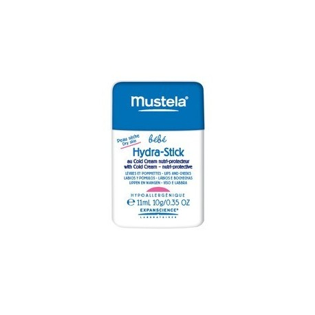 MUSTELA HYDRA STICK COLD CREAM NUTRIPROTECTOR 9,2gr