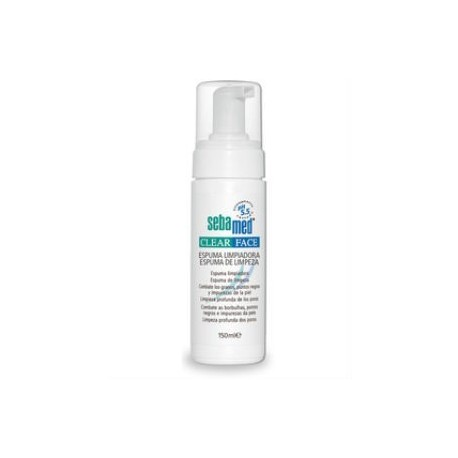 SEBAMED CLEAR FACE ESPUMA LIMPIADORA 150ml + GEL 10ml