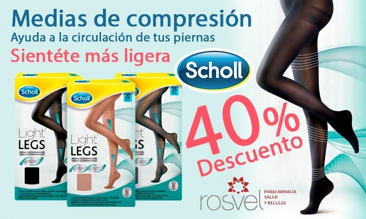 Medias de compresión Scholl en oferta